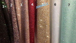 Image 1 - fashion JIANXI.C 121691 african glitter lace fabric for party dress 5yard/lot embroidered tulle lace with glued glitter