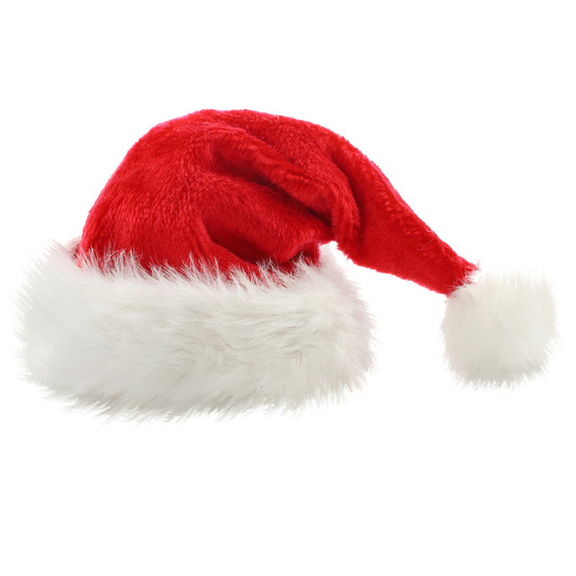4e47900a7f602 KANCOOLD Fashion Xmas Christmas Cap Thick Ultra Soft Plush Cute Santa Claus  Holiday Festival Supplies Fancy Dress Hat PJ1026