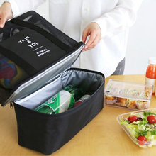 Picnic Basket Bag Food Carry Delivery Outdoor Camping Lunch Food Keeping