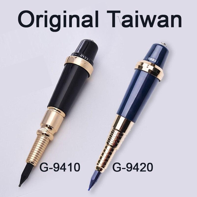 Profissional Original Taiwan tatuaje máquina sol gigante permanente maquillaje máquina para labio de la ceja G-9420 G-9410 arma del tatuaje rotatorio
