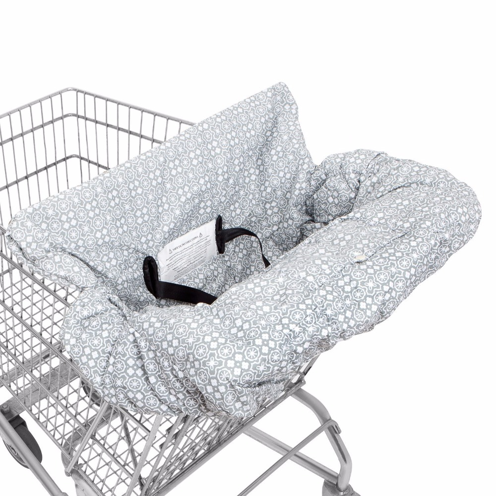 Precise Infant Child Supermarket Shopping Cart Seat Cushion Chair Cushion Protection Safe Travel Portable Cushion Mother & Kids Shopping Cart Covers