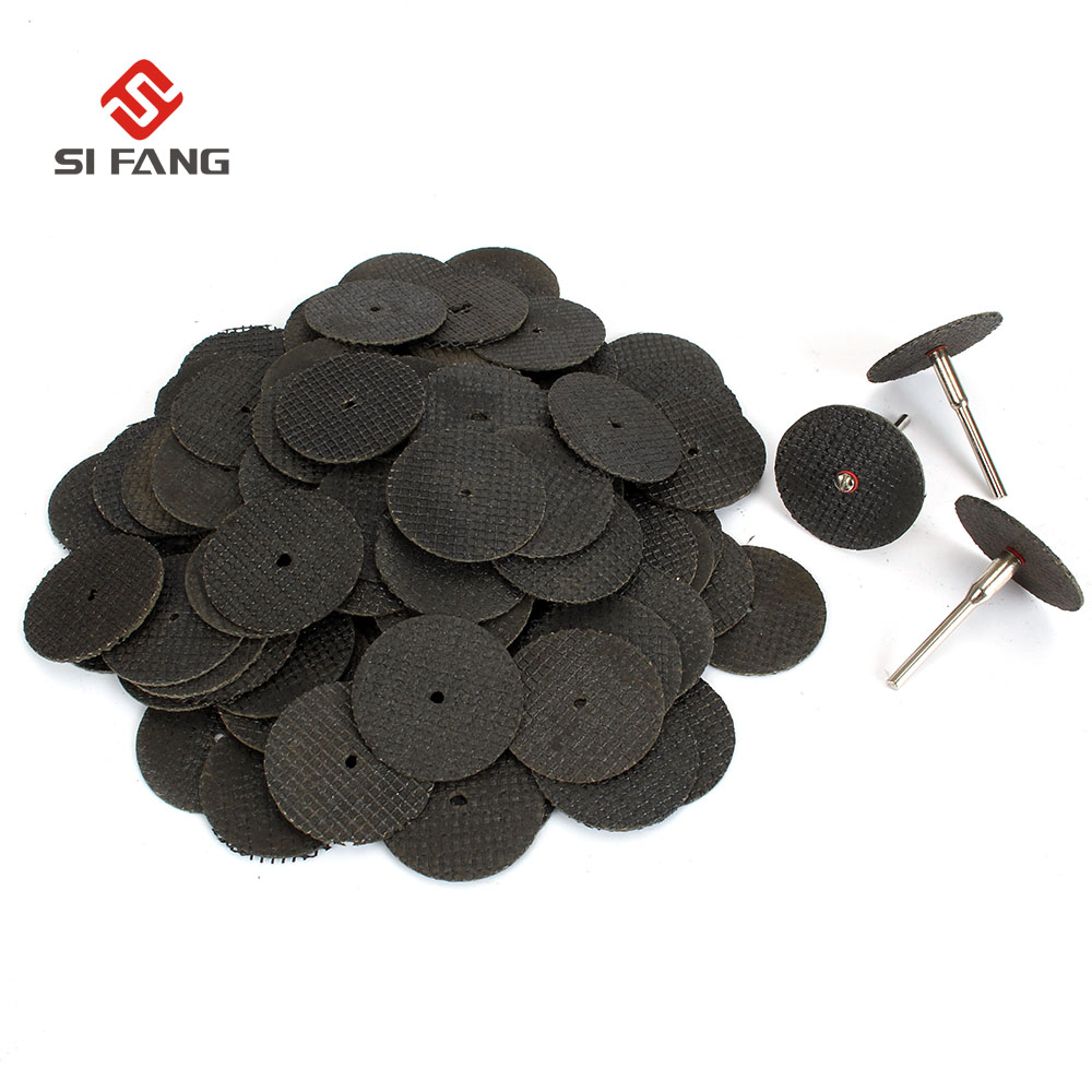 50Pcs 32mm Resin Fiber Cutting Disc Cut Off Grinding Wheels Dremel Accessories Power Tools Mini Drill DIY Metal Wood Cutting