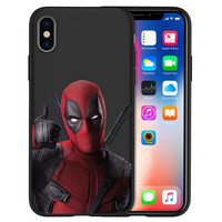 Deadpool Printed Phone Cases For Apple Iphone (6 Styles) 4