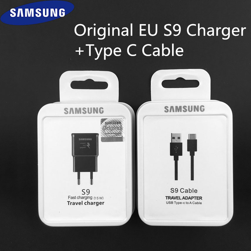 Original Samsung S9 Fast Charger 1.67A Usb Type-C quick charge power adapter for Galaxy S10e S10plus S9 S8 note7 note 8 ep-ta200