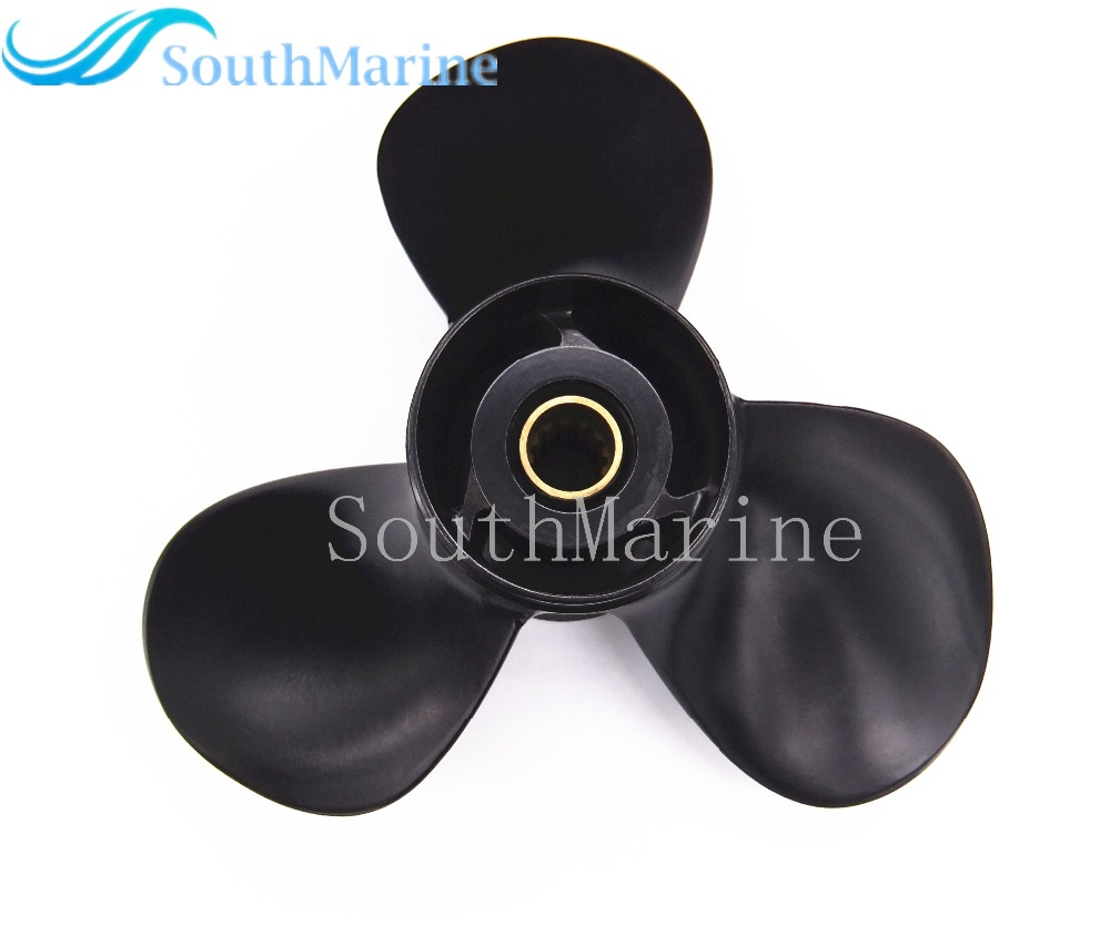 Aluminum Propeller for Suzuki 40HP 50HP 55HP Outboard Motors 11 1/8x13-G 11 1 /8 x 13 -G fuel pump 15200 87j10 15200 87j00 for suzuki outboard engine df40 df50 40hp 50hp
