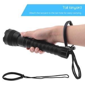 Image 3 - BORUiT A28 XHP70.2 LED Tauchen Taschenlampe Unterwasser 100 M Taschenlampe Max 100 00 lumen 4 Modus Dive Laterne dive durch 26650 Batterie