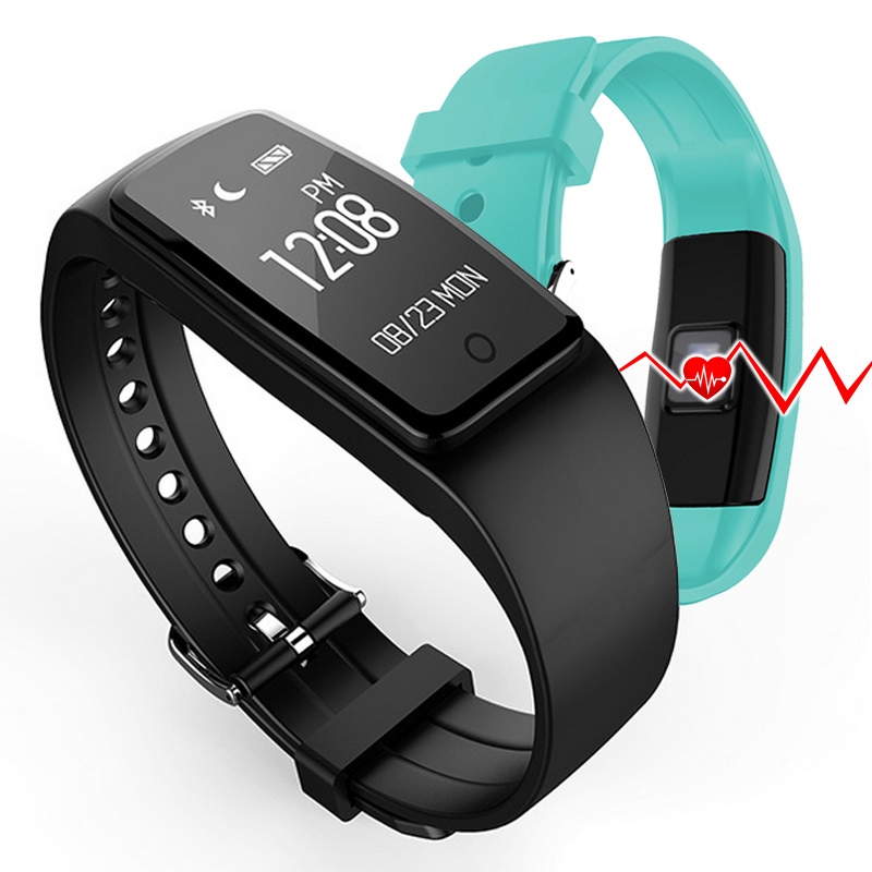 S1 Smart Wristbands Sport Fitness Heart Rate Monitor With Bluetooth Remote Camera Music Daily Work Life
