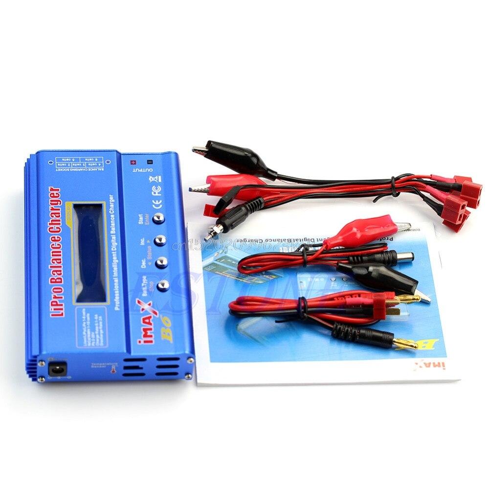 Para iMAX B6 pantalla LCD Digital RC Lipo NiMh cargador de equilibrio de batería F23 Dropshipping. exclusivo.