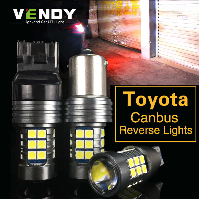 1pcs Car LED Reverse Light Backup Lamp W16W 921 T15 7440 BA15S For Toyota Corolla Camry Previa Prius RAV4 Sienna Sienna Tundra