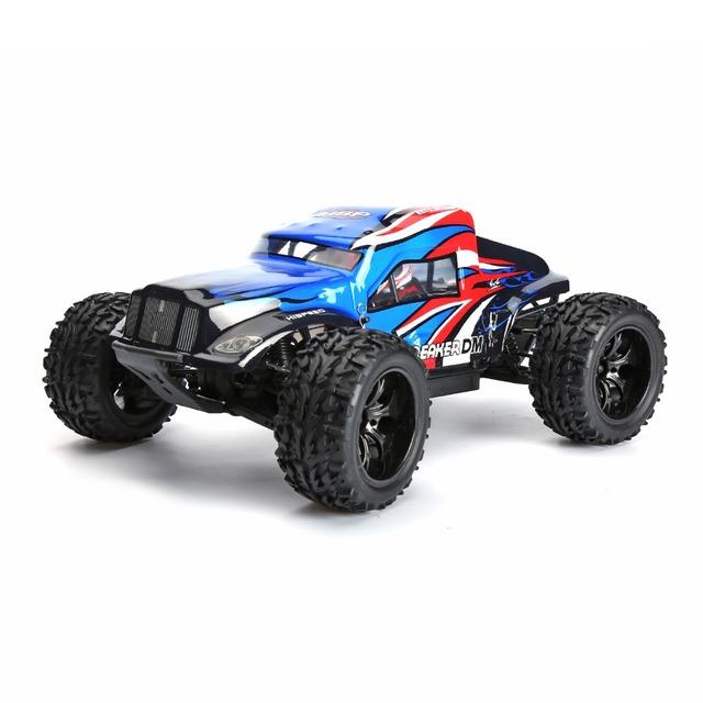 HSP 94204 Hight Speed 1/10o 4WD Eléctrico de Potencia R/C Camión Monstruo de Arena Ferrocarril