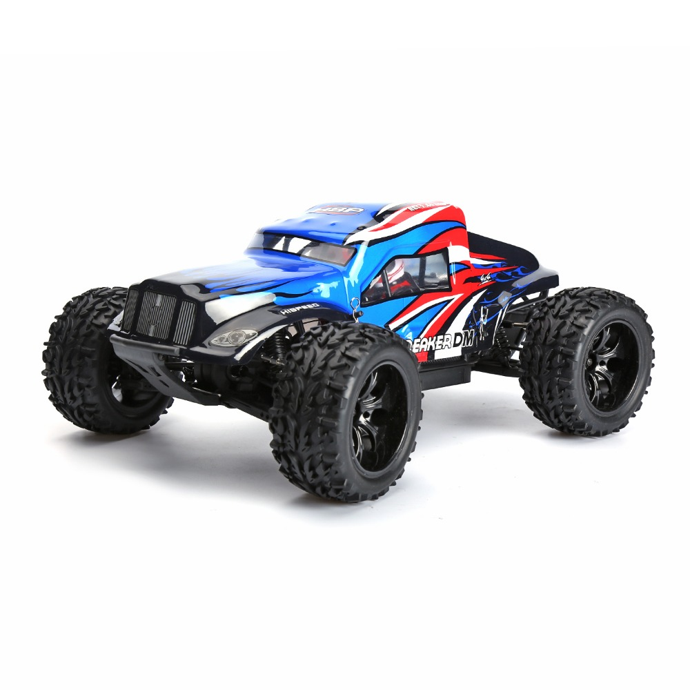 HSP 94204 Hight Speed Electric Power Monster Sand Rail Redcat RC HSP Rc Car 1/10 Scale Off Road Monster Truck 4wd Remote Control 02023 clutch bell double gears 19t 24t for rc hsp 1 10th 4wd on road off road car truck silver