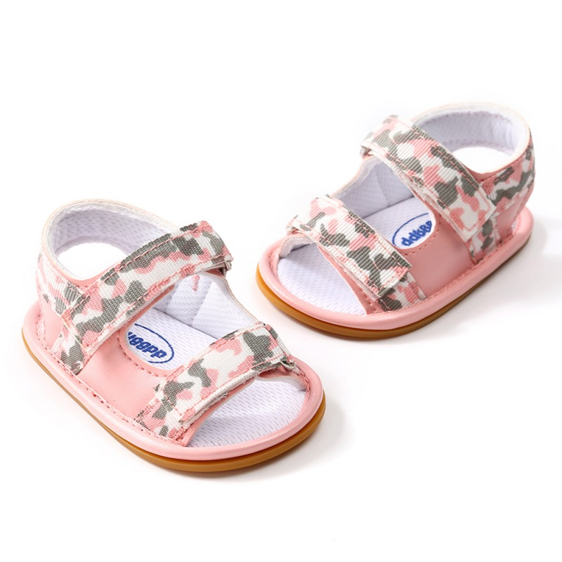 New Summer Breathable Baby Boys girls shoes Kids Camo Hollow Out Anti-skid Casual Baby Cack Shoes