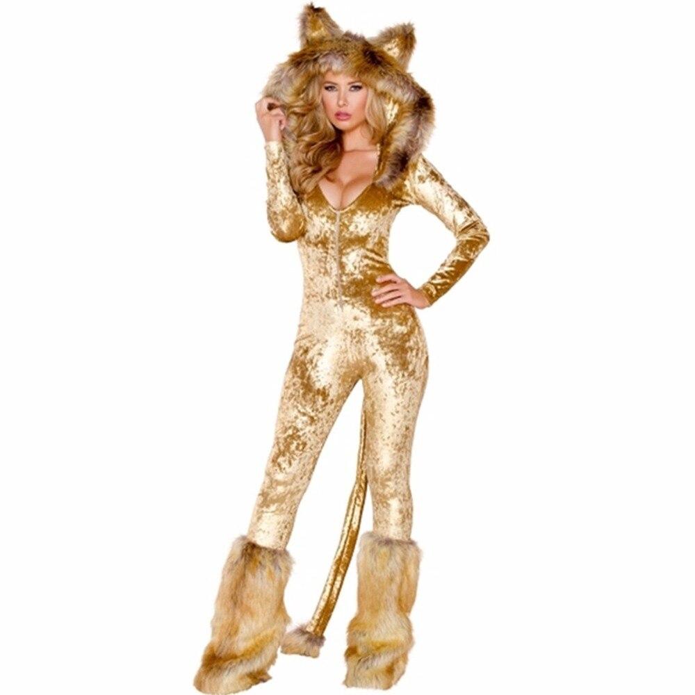 Su comercio tiene que asegurarse de que antes de sobornar un Disfraz de  León de lujo disfraz de cosplay de animales de Halloween conjunto de trajes  de mujer ... c0a356df86ca