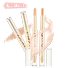 Loumesi concealer pencil foundation hide blemish dark circle cream concealer pencil base Liquid Foundation Long Lasting 6g