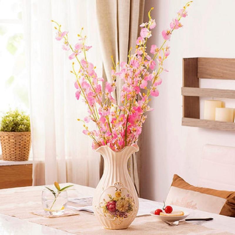 vase dried flower vase modern simple european ceramic