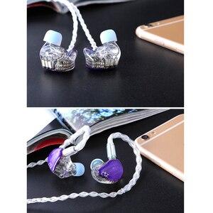 Image 5 - CTZ DIY Custom Made 16BA Balanced Armature Unit Drivers 0.78mm 2 Pin Earphone DJ Noise Canceling Headphone for iPhone xiaomi