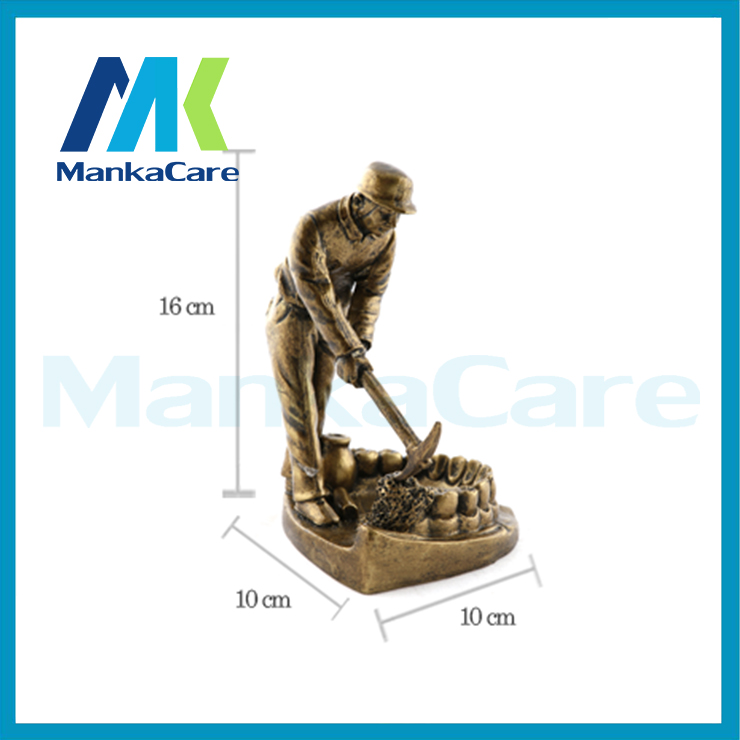 TEETH REPAIRER art figurine resin clinic decoration europe style Handicraft furnishing articles artwork innovation dental gift