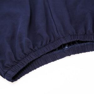 Image 5 - 男性パジャマ綿ラウンド襟パジャマスーツ 2 個夏ストライプパジャマセットソフトで快適な Pijamas ホームウェア