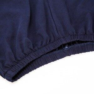 Image 5 - Men Pajamas Cotton Round Collar Men Short Sleepwear Suits 2 Pieces Summer Striped Pajamas Sets Soft Comfortable Pijamas Homewear
