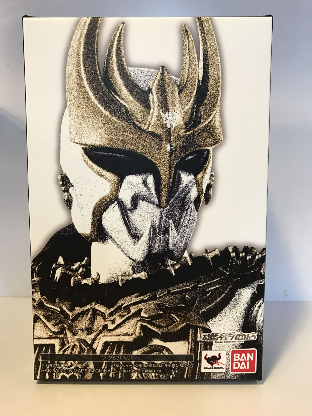Brettyangel-véritable Bandai Tamashii Nations S. H. Figuarts cavalier masqué exclusif Kuuga N. Daguva. Zeba figurine d'action - 6