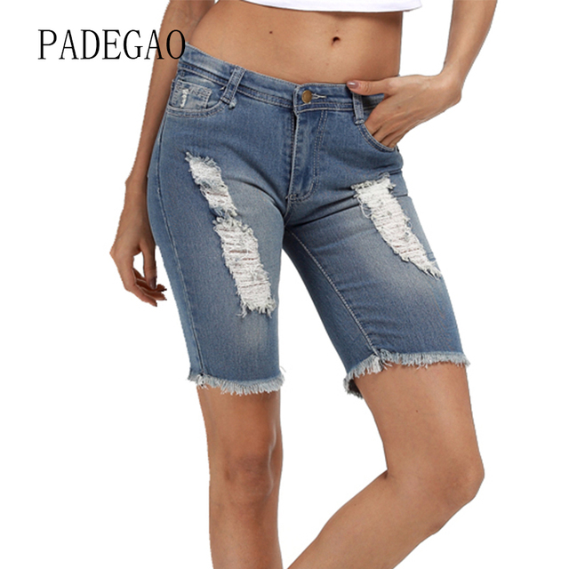 Fashion 2018 Summer Denim Woman Jeans Femme Shorts Feminino For Women Pant Womens Female Boyfriend Mujer Plus Size Large Push Up
