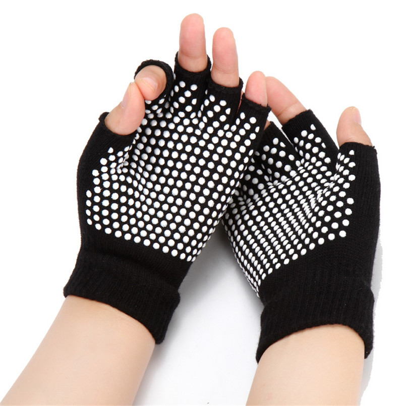 Back To Search Resultsapparel Accessories Soft & Warm Cotton Ladies Striped Yoga Gloves Professional Anti-slip Riding Gloves Black White Pink Gloves Handschoenen