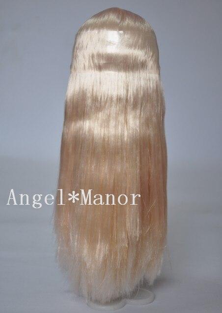 Волосы для блит кукла с головы, Золотой длинные волосы, Не кукла, Для подарка девушке, Tf95, Парик