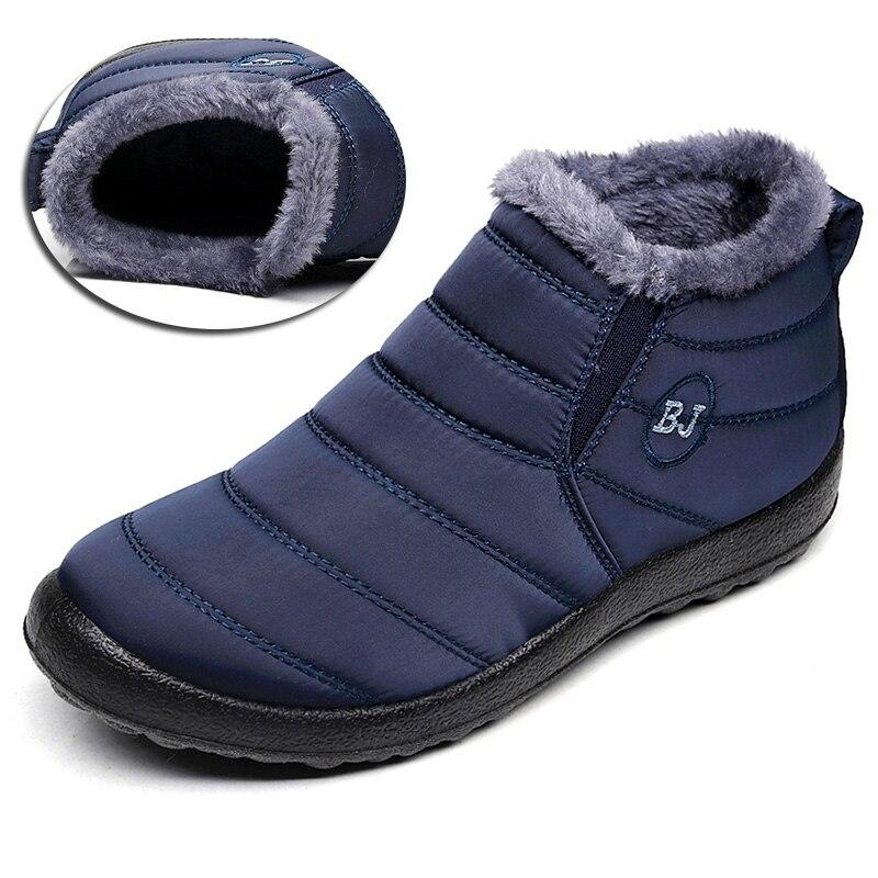 Frauen Stiefel Warm Halten Winter Schuhe Frau Wasserdicht