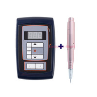 2017 Hot Sale Rotary Swiss Motor Tattoo Kits Permanent Makeup Machine Power Supply And Pen for Eyebrow Eyeliner Lips Work