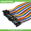 40 / 120pcs 40PIN 20CM Dupont Line Male to Male + Female  and Female to Female Jumper Dupont Wire Cable For Arduino DIY KIT 3
