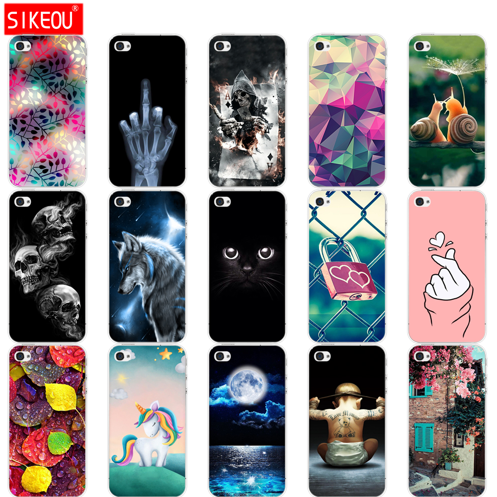 Silikon Fall Für <font><b>iphone</b></font> 5s 5 s se 4 4s Fall weiche tpu telefon Shell Cover Für Apple <font><b>iphone</b></font> 6 s 6 s plus Fundas coque etui stoßstange image