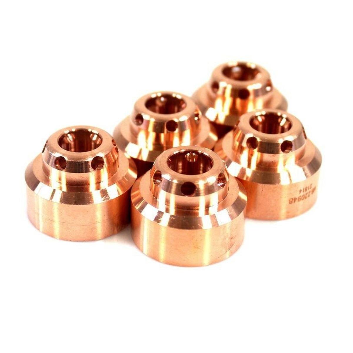 Shield Cap 220948 FineCut Plasma Cutter Torch Aftermarket Plasma Consumables PKG-5
