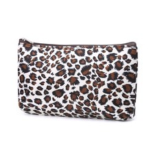 Ladies Leopard Print Multifunction Toiletry Wash Organizer Travel Cosmetic Bag(China)