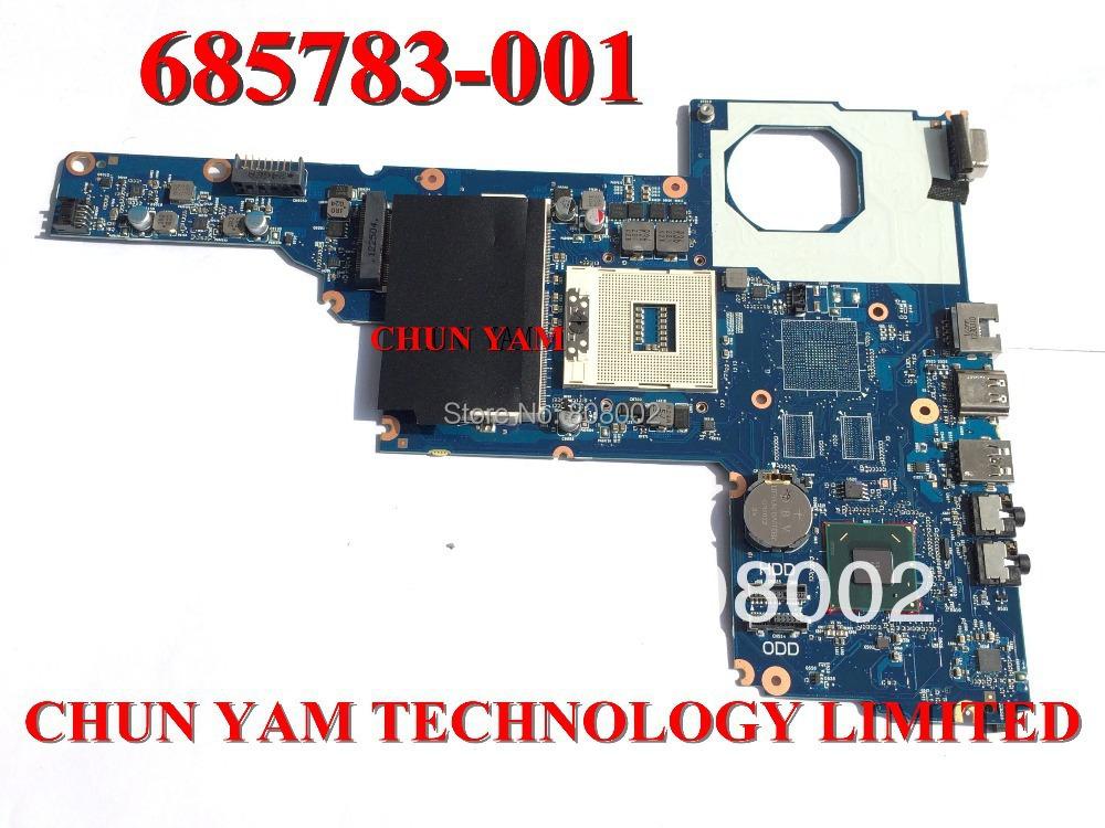Prix pour 685783-501 pour HP 450 1000 2000 CQ45 carte mère HM70 6050A2493101-MB-A02 TPN-I105 mainboard 100% testé 90 Jours de Garantie