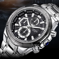 LONGBO Wristwatch Original Quartz Watch Men Top Brand Luxury Fashion Wrist Watch Male Clock For Men