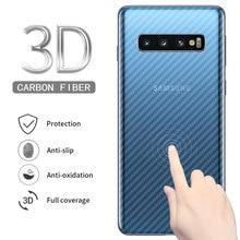 5pcs For Samsung Galaxy S10 S10e S8 S9 Plus Note 8 9 A30 A50 M20 M30 Full Cover Screen Protector Carbon Fiber Film 3d full cover screen protector tpu film for samsung galaxy a50 a505f a30 a70 m20 s10e s8 s9 s10 plus note 9 8 soft hydrogel film