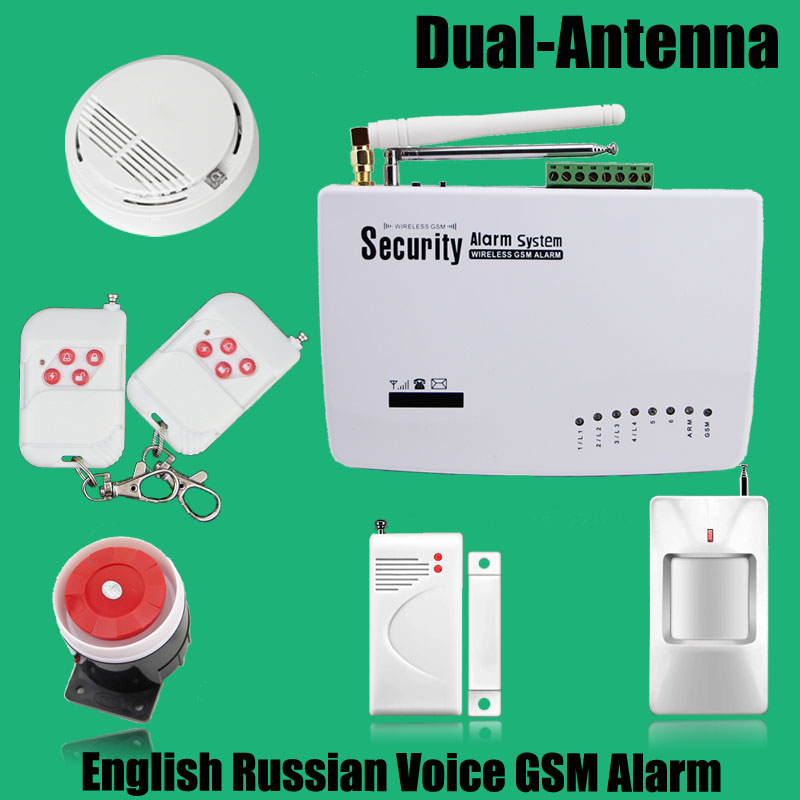 ФОТО Free shipping High quality NEW Gas sensor White Smoke detector Wireless home security alarm for 433MHz White gsm alarm system