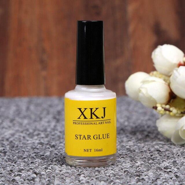 16 ml de Arte de uñas pegamento para papel adhesivo de uñas de transferencia consejos Estrella Blanca pegamento adhesivo accesorios uñas manicura herramienta de decoración de 29