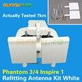 Установка антенны комплект Модифицированная антенна расширенный диапазон белый цвет для DJI Phantom 4/3 Inspire 1 пульт дистанционного управления