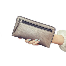 Women Wallets Brand Design High Quality PU Leather Wallet Female Hasp Fashion Dollar Price Long Women