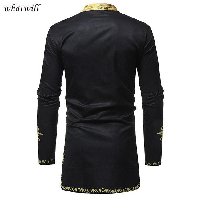 africa clothing hip hop dress shirts mens fashion 1