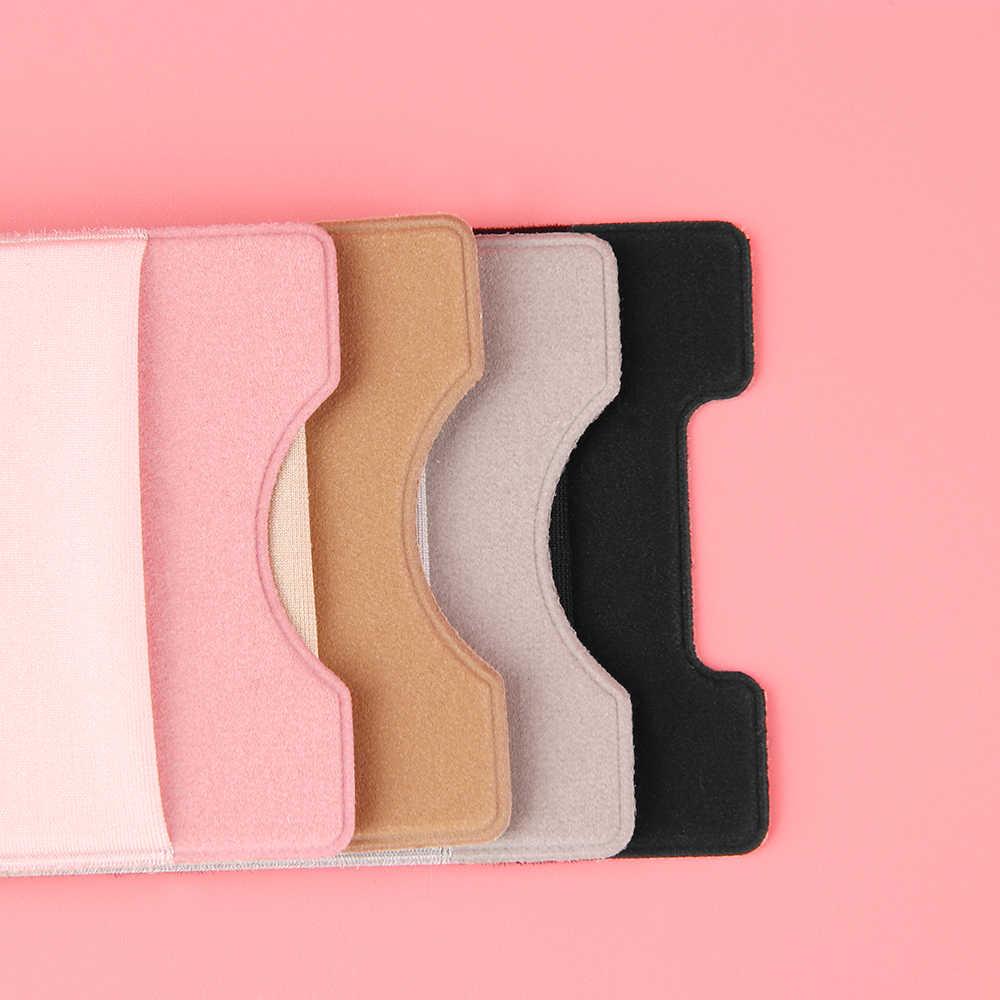 Lycra elástica Caso Carteira ID Titular Do Cartão de Crédito de Telefone Celular Bolso Vara Em 3 Adesiva 3M Preto/Cinza/ rosa/Ouro