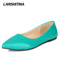Big Size 30 50 Women Pointed Flat Shoes Spring Summer Pumps Fashion Bow Flat Egg Roll