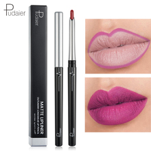Pudaier Velvet Red Matte Lip Liner Pencil Waterproof  Lip Tint Liner crayon a levre Nude Lipliner Matte Lip Pencil Lips Makeup