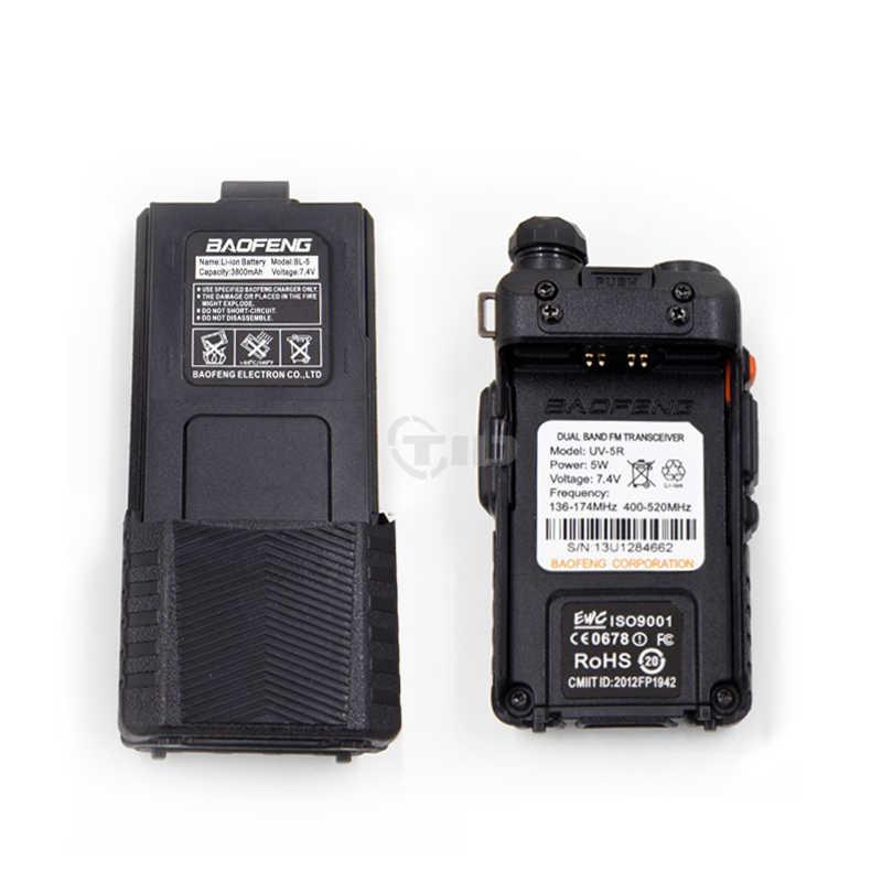 BaoFeng uv-5r VHF / UHF 136-174Mhz и 400 - 520 мГц баофенг уф 5r рации портативные для охоты 3800 аккумулятор baofeng uv5r