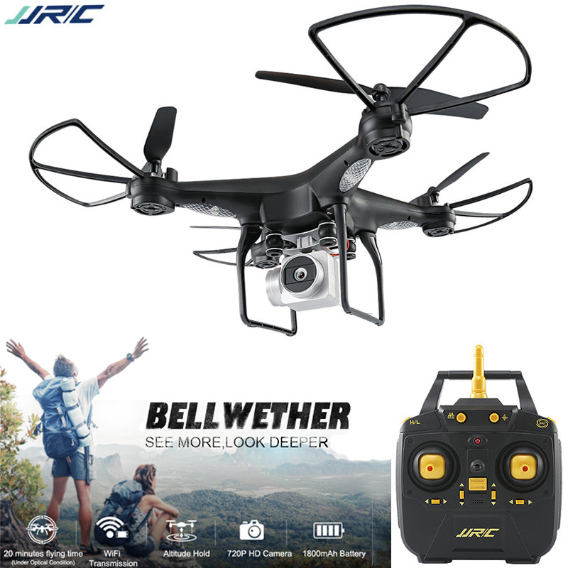 US $54 15 25% OFF| JJRC H68 Drone with Camera Altitude Hold Auto Return  Headless Mode RC Helicopter Outdoor Quadcopter 20 Mins Long Fly Time -in RC