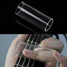 Plexi Стекло раскладная гитара слайдер для пальца Электрогитары Строка Стеклянные цилиндры трубки защита пальцев костяшки аксессуары для гитары