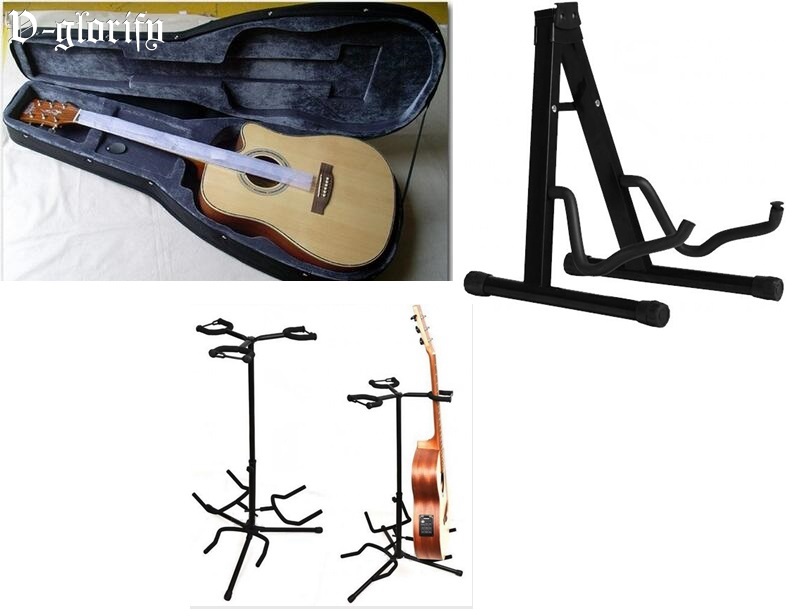 free shipping guitar case guitar stand 3 combined pc/piece pc 39