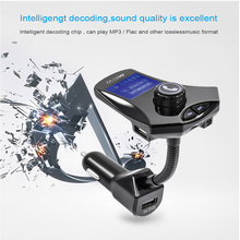 Bluetooth font b car b font kit Fm transmitter MP3 play 4 kinds of play mode