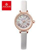 JULIUS Watches Women Luxury Brand Famous White Watch For Women Top Brand Designer Children Whatch For